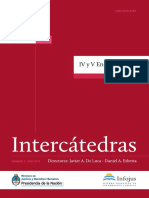 Revista Intercatedras II