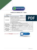 Administración de Operaciones Producto Académico N°1