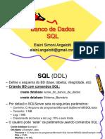 Banco de Dados - SQL - Elaini