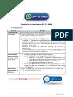 Comunicación y Argumentación Producto Académico N°1