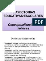 Trayetorias educativas, escolares