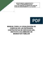 Manual de Legalizacion de Cuentas