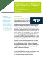 2- Politica Publica y Promocion de RSE (1)