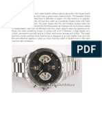 Tag Heuer Carrera Calibre 17 513 Words