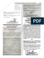 Gaceta Oficial 41702 Exhorto