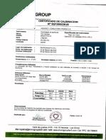 2. Certificacion de Calibracion PM10