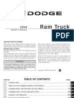 2008 Ram Diesel Owners Manual