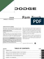 2008 Ram Gas Owners Manual