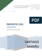 Proyecto Civil, Construccion