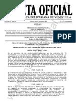 Gaceta Oficial Extraordinaria 6475