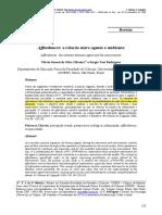Affordances - A Relação Entre Agente e Ambiente
