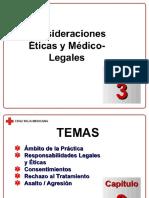 Capítulo 03 - Consideraciones Eticas y Medico-legales