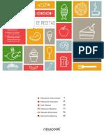 Manual Recetario Olla Programable Newcook3D