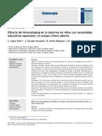 2012 Eficacia del kinesiotaping en la sialorrea en niños con necesidades educativas especiales, un ensayo clínico abierto.pdf