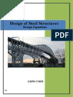 Steel LRFD Design Equations REV0