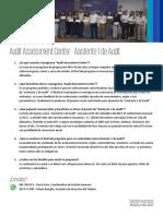 Invitación - Audit Assement Center