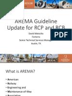 AREMA FINAL UPDATES