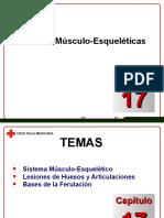 Capítulo 17 - Lesiones Musculo - Esqueleticas