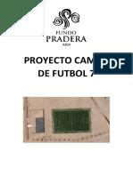 Proyecto Construcción Campo Fútbol 7