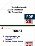 Capítulo 28 - Estado Mental Alterado - Lesión Encefalica No Traumática