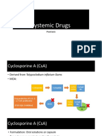 Systemic Drugs for Psoriasis