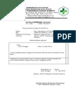 Format Surat Tugas