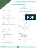 Sistemas de Ecuaciones Lineales FICHA 1 (2)