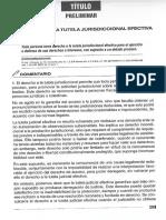 PROCESAL CIVIL I - Coedigo Procesal Civ il Comentarios - Tiětulo Preliminar
