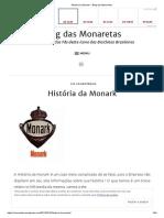 História Da Monark – Blog Das Monaretas