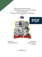 Trabajo de Filosofía Griega