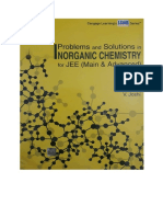 Problems and Solutions in Inorganic Chemistry for IIT JEE Main and Advanced by v Joshi Cengage Part 1 Upto Chapter 4 Qualitative Inorganic Analysis ( PDFDrive.com )