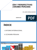 Perspectivas de La Economia Peruana Agosto 2019
