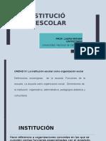 Unidad 4 La Escuela Como Org Social (1)