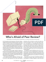 Who's Afraid of Peer Review
