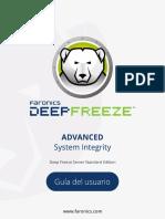 Manual de deep feeeze