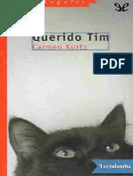 Querido Tim - Carmen Kurtz