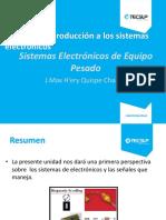 Sistemas electrónicos de equipos