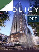 Policysydneyproposal_V40917