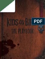 Kids on Bikes - The Playbook