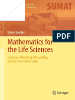 Mathematics for Life Sciences Calculus, Model, Proba Dynamical Systems