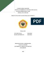 Laporan Kp Vivi(h1d115026) - Hasniyah(h1d115034)
