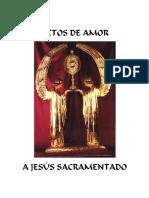 Actos de Amor a Jesús Sacramentado