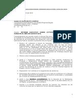 Oficio Entregando Informe Mes de Agosto 2019