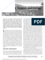 Science, Religion, and Ecology