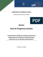 Guia de Programas Sociales