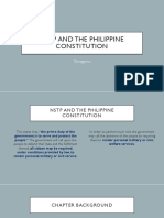 Nstp and the Philippine Constitution_report