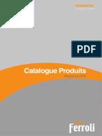 Catalogue Produits Ferroli Belgique 06 2016