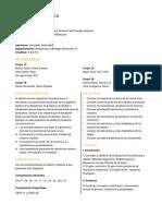 Programa de Bioquímica General