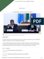 Superintendente Da PF No Rio é Exonerado - 30-08-2019 - UOL Notícias