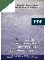 Validez y Confiabilidad Del Estudio Socieconómico ENTS